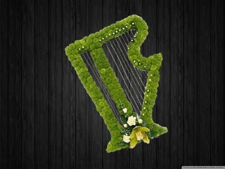 Harp In Green