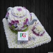 Tea Pot & Cup 3D