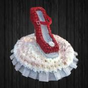 3D Stiletto High Heel Shoe