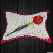 Single Dart On Pillow