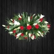 Red & White Roses - CSK58