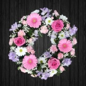 Lilac, White & Pink - WRE130