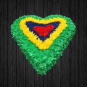 Colourful Heart - HEA132